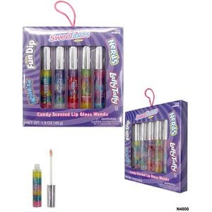 Nestle Assorted Rainbow Lip Gloss 5-Pack Box